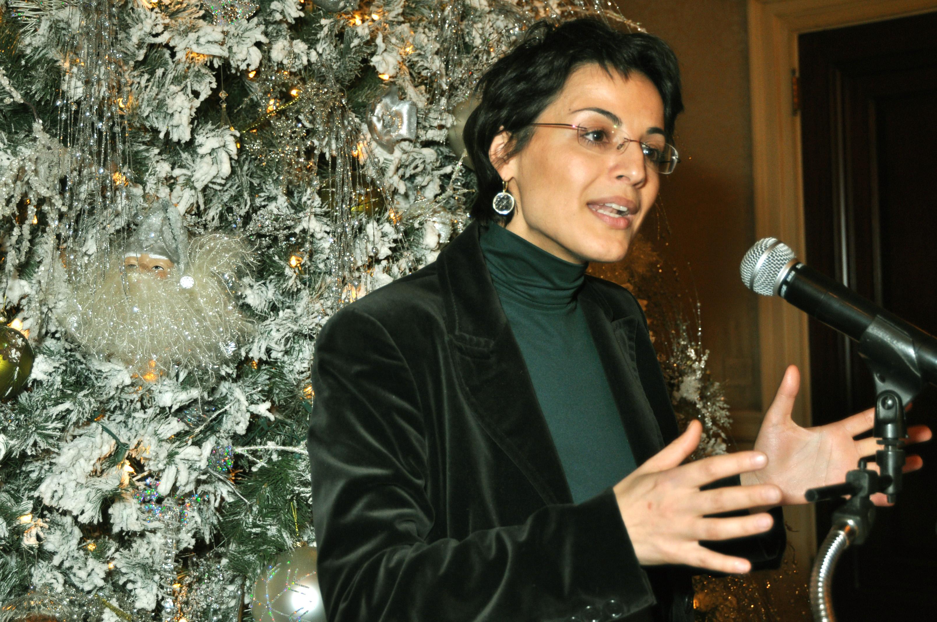 Vice Consul Lucia Pasqualini