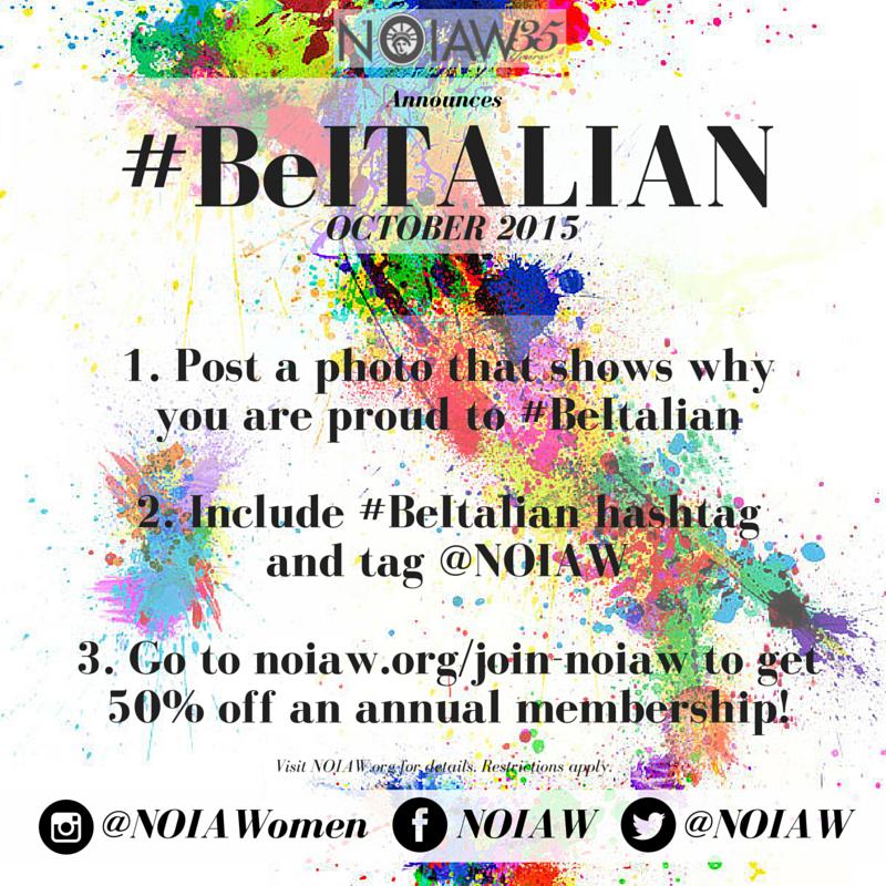 #BeItalian