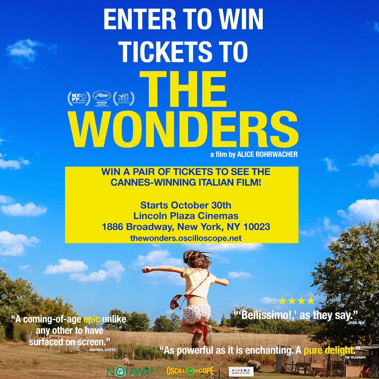 TheWonders_ticket_giveaway2