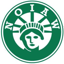 NOIAW logo round