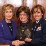 Hon. Constance Morella, Diana Femia and Gina M. Grosso
