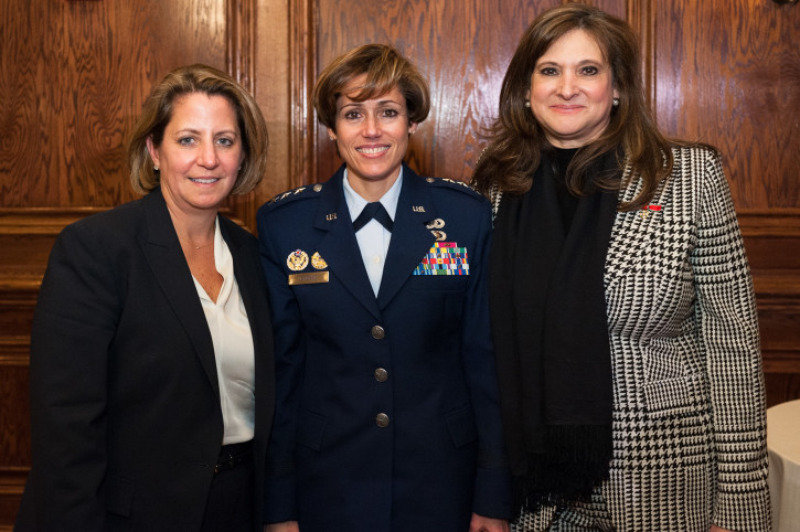 Lisa Monaco, Gina M. Grosso and Gemma Puglisi