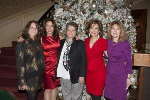 MaryRose Barranco Morris, Sue Matthews, Donna Corrado, Carin Guarasci, and Maria Tamburri