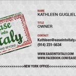 Ease Into Italy Card