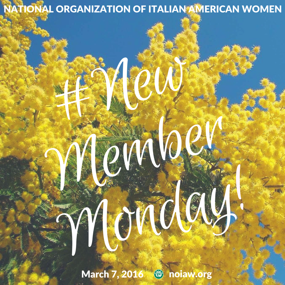 March New Member Monday