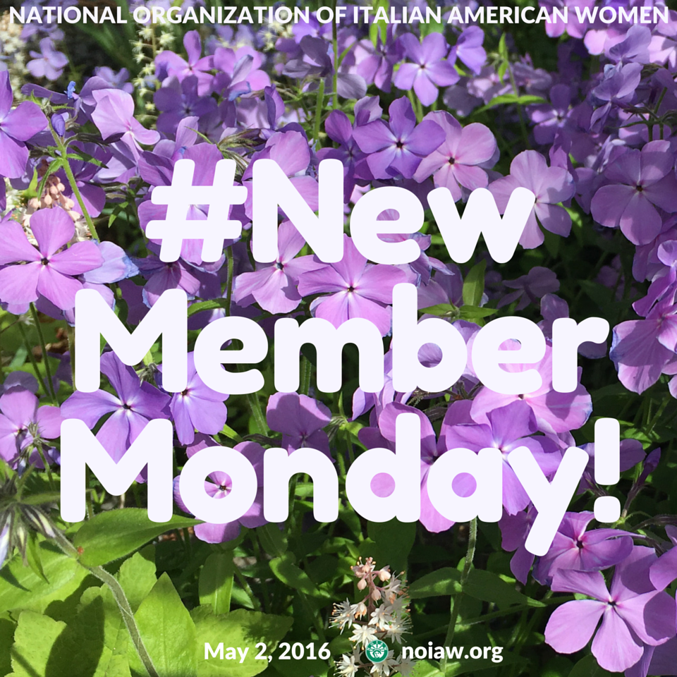 May New Member Monday