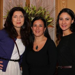 Greater New York  Council Member Allison Scola, Greater New York Metro Network Co-Coordinator Amy Cococcia, Esq. and Greater New York Council Member Teresa Alessandro