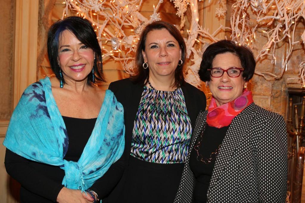 Honorees Elissa Montanti, Hon. Saliann Scarpulla and Judith Grimaldi, Esq.