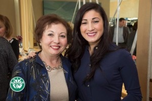 Rhode Island Council Member Daniela Mansella Paolino (r) with her mother Maria Mansella