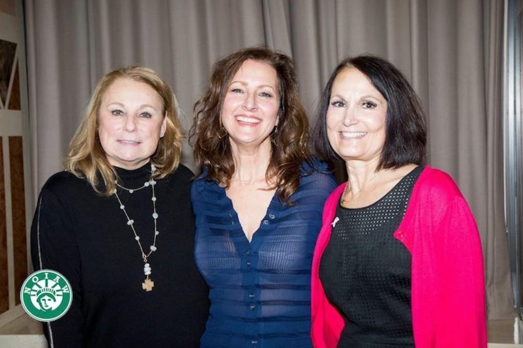 Honorees Michele Lancellotti, Andrea Valentini, Maria Gemma Corcelli
