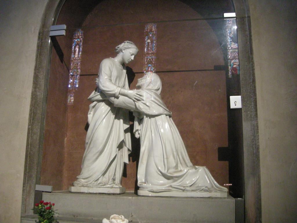 San_Giovanni_Fuorcivitas,_interno,_visitazione_di_luca_della_robbia