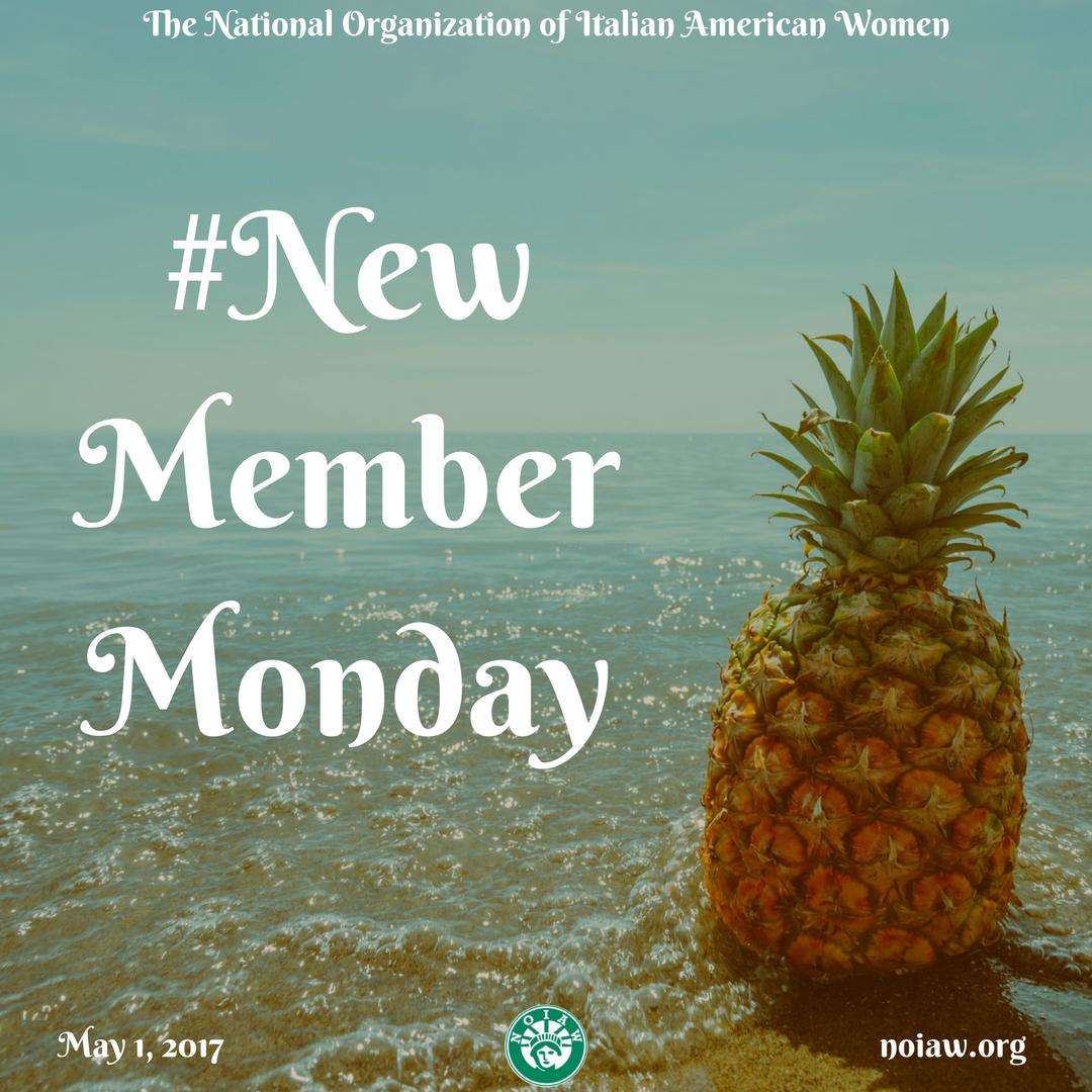 new member monday may 2017