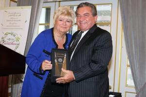 Co-chair Cav. Mary Ann Mattone, RN/MPH and Friend of NOIAW 2017 recipient Joseph R. Ficalora