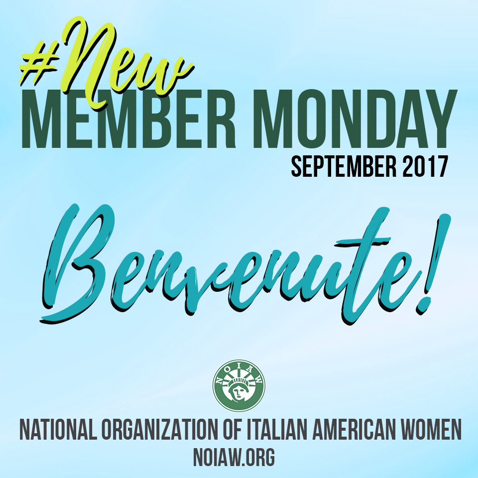 New Member Monday September