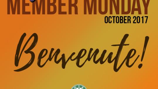 New Member Monday October
