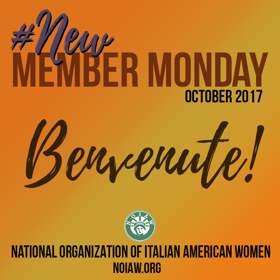 New Member Monday October