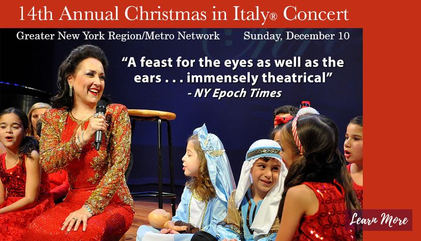 14th Annual Christmas in Italy