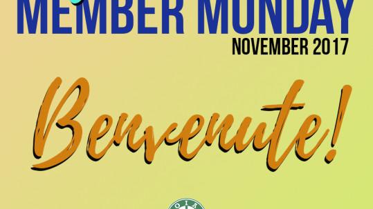 New Member Monday November